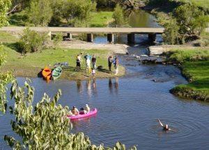 Canoeing 2002 002