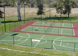 Drake Tennis Courts Refurb 2004 001