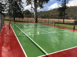 Tennis Court Repaint 2017